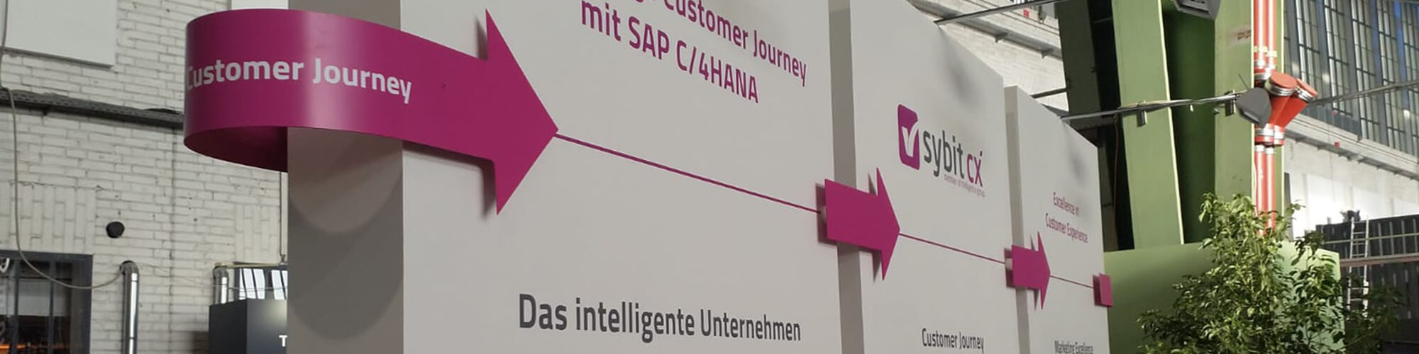 Sybit Showcase auf der SAP NOW in Berlin